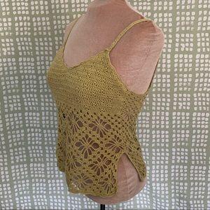 Charlotte Russe Crochet Crop Top